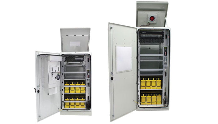 outdoor power cabinets