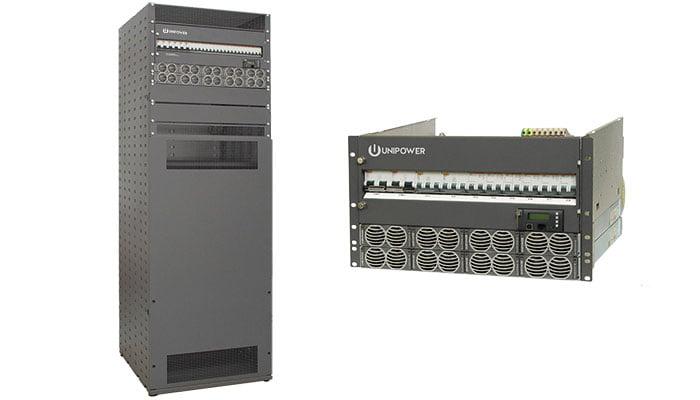 dual 48v and 24v dc power system