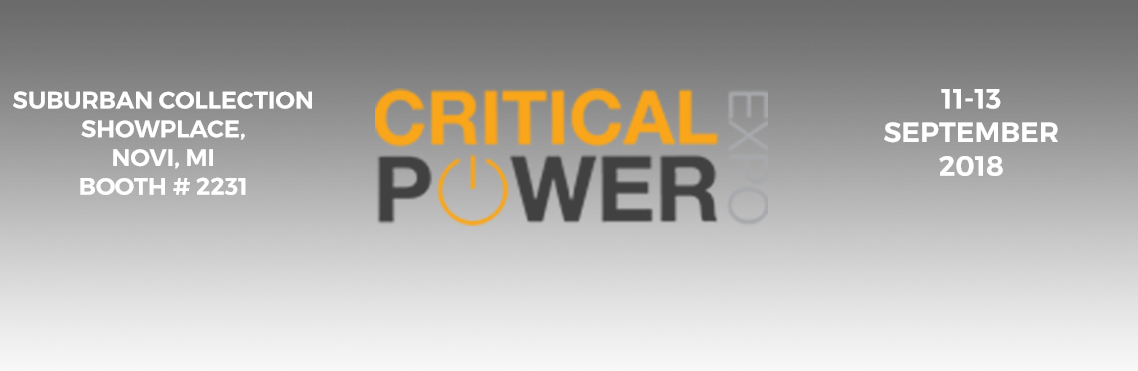 UNIPOWER to exhibit at Critical Power Expo 2018